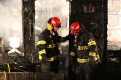 Row Home Fire, Blaze, 100 Block of Orwigsburg Street, Tamaqua, 11-21-2015 (135)