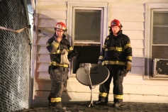 Row Home Fire, Blaze, 100 Block of Orwigsburg Street, Tamaqua, 11-21-2015 (138)