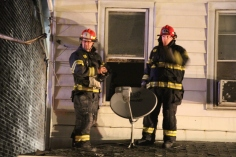 Row Home Fire, Blaze, 100 Block of Orwigsburg Street, Tamaqua, 11-21-2015 (139)