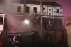 Row Home Fire, Blaze, 100 Block of Orwigsburg Street, Tamaqua, 11-21-2015 (14)