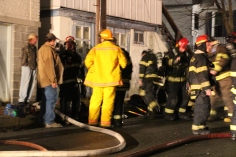 Row Home Fire, Blaze, 100 Block of Orwigsburg Street, Tamaqua, 11-21-2015 (145)