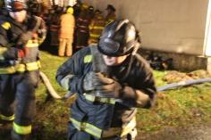 Row Home Fire, Blaze, 100 Block of Orwigsburg Street, Tamaqua, 11-21-2015 (156)