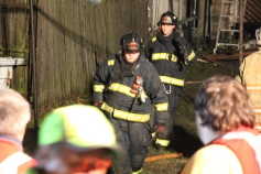 Row Home Fire, Blaze, 100 Block of Orwigsburg Street, Tamaqua, 11-21-2015 (160)
