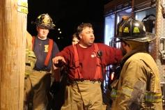 Row Home Fire, Blaze, 100 Block of Orwigsburg Street, Tamaqua, 11-21-2015 (170)