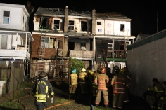 Row Home Fire, Blaze, 100 Block of Orwigsburg Street, Tamaqua, 11-21-2015 (179)