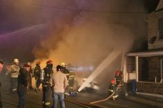 Row Home Fire, Blaze, 100 Block of Orwigsburg Street, Tamaqua, 11-21-2015 (18)
