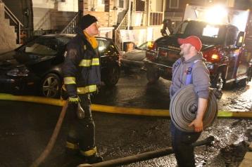 Row Home Fire, Blaze, 100 Block of Orwigsburg Street, Tamaqua, 11-21-2015 (186)