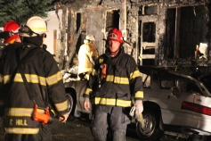 Row Home Fire, Blaze, 100 Block of Orwigsburg Street, Tamaqua, 11-21-2015 (204)