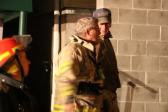 Row Home Fire, Blaze, 100 Block of Orwigsburg Street, Tamaqua, 11-21-2015 (219)