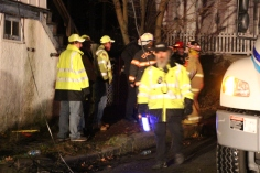 Row Home Fire, Blaze, 100 Block of Orwigsburg Street, Tamaqua, 11-21-2015 (220)