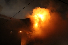 Row Home Fire, Blaze, 100 Block of Orwigsburg Street, Tamaqua, 11-21-2015 (25)