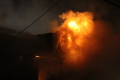 Row Home Fire, Blaze, 100 Block of Orwigsburg Street, Tamaqua, 11-21-2015 (26)