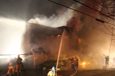 Row Home Fire, Blaze, 100 Block of Orwigsburg Street, Tamaqua, 11-21-2015 (30)