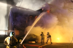 Row Home Fire, Blaze, 100 Block of Orwigsburg Street, Tamaqua, 11-21-2015 (52)