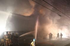 Row Home Fire, Blaze, 100 Block of Orwigsburg Street, Tamaqua, 11-21-2015 (63)