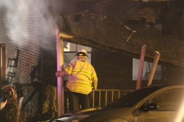 Row Home Fire, Blaze, 100 Block of Orwigsburg Street, Tamaqua, 11-21-2015 (76)