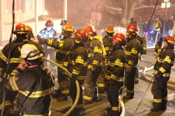 Row Home Fire, Blaze, 100 Block of Orwigsburg Street, Tamaqua, 11-21-2015 (87)