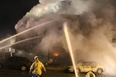 Row Home Fire, Blaze, 100 Block of Orwigsburg Street, Tamaqua, 11-21-2015 (90)