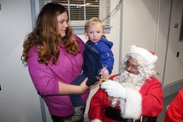 Santa Gathering, after Parade, Frank Fabrizio's House, in Brockton, 11-28-2015 (12)