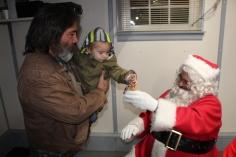 Santa Gathering, after Parade, Frank Fabrizio's House, in Brockton, 11-28-2015 (18)