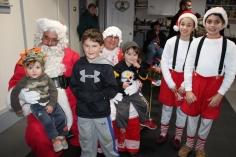 Santa Gathering, after Parade, Frank Fabrizio's House, in Brockton, 11-28-2015 (2)