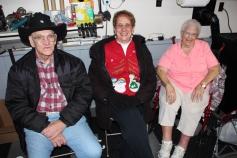 Santa Gathering, after Parade, Frank Fabrizio's House, in Brockton, 11-28-2015 (22)