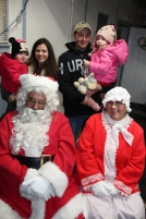 Santa Gathering, after Parade, Frank Fabrizio's House, in Brockton, 11-28-2015 (30)