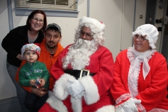 Santa Gathering, after Parade, Frank Fabrizio's House, in Brockton, 11-28-2015 (4)