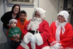 Santa Gathering, after Parade, Frank Fabrizio's House, in Brockton, 11-28-2015 (4)