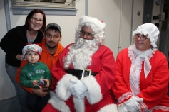 Santa Gathering, after Parade, Frank Fabrizio's House, in Brockton, 11-28-2015 (5)