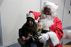 Santa Gathering, after Parade, Frank Fabrizio's House, in Brockton, 11-28-2015 (53)