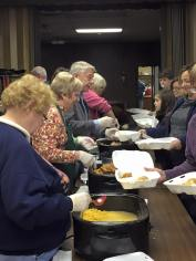 Schuylkill Knights of Columbus Delivers Food, 11-26-2015, from Wendy Seigenfuse (1)