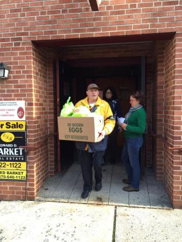 Schuylkill Knights of Columbus Delivers Food, 11-26-2015, from Wendy Seigenfuse (14)