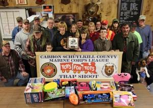 SCMCL Toys For Tots Donation, Trap Shoot, Bear's Head Sportsman Association, Delano, 11-15-2015 (17)