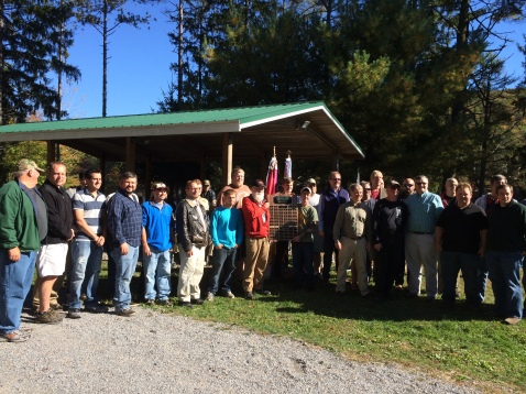Scout Reunion, 777, Owl Creek Reservoir, Tamaqua, 10-11-2015, from Dave Argall (1)