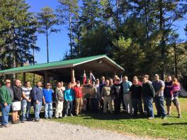 Scout Reunion, 777, Owl Creek Reservoir, Tamaqua, 10-11-2015, from Julie DeAngelo (1)