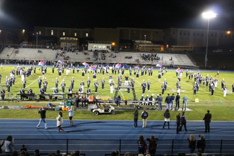 Senior Recognition Night, Raider Band, Cheerleader s Sports Stadium, Tamaqua, 11-6-2015 (272)