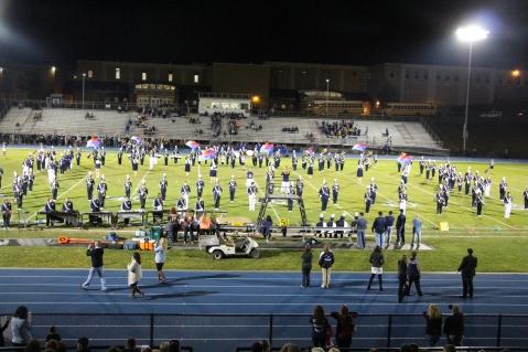 Senior Recognition Night, Raider Band, Cheerleader s Sports Stadium, Tamaqua, 11-6-2015 (272)