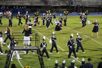 Senior Recognition Night, Raider Band, Cheerleader s Sports Stadium, Tamaqua, 11-6-2015 (281)