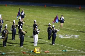 Senior Recognition Night, Raider Band, Cheerleader s Sports Stadium, Tamaqua, 11-6-2015 (292)