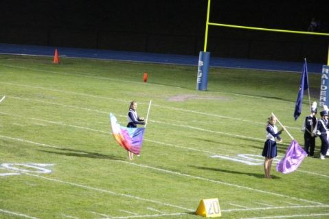 Senior Recognition Night, Raider Band, Cheerleader s Sports Stadium, Tamaqua, 11-6-2015 (294)
