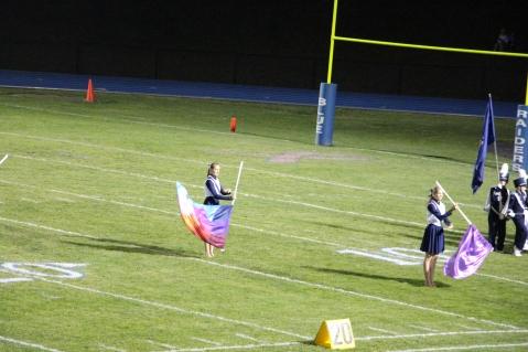 Senior Recognition Night, Raider Band, Cheerleader s Sports Stadium, Tamaqua, 11-6-2015 (294)