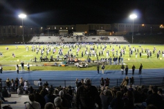 Senior Recognition Night, Raider Band, Cheerleader s Sports Stadium, Tamaqua, 11-6-2015 (297)