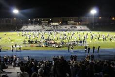 Senior Recognition Night, Raider Band, Cheerleader s Sports Stadium, Tamaqua, 11-6-2015 (297)