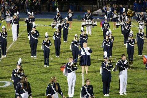 Senior Recognition Night, Raider Band, Cheerleader s Sports Stadium, Tamaqua, 11-6-2015 (302)