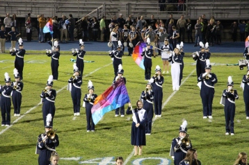 Senior Recognition Night, Raider Band, Cheerleader s Sports Stadium, Tamaqua, 11-6-2015 (303)