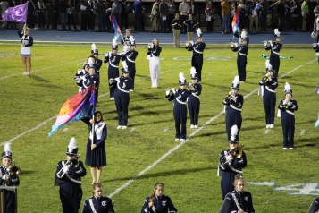 Senior Recognition Night, Raider Band, Cheerleader s Sports Stadium, Tamaqua, 11-6-2015 (304)