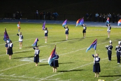 Senior Recognition Night, Raider Band, Cheerleader s Sports Stadium, Tamaqua, 11-6-2015 (310)