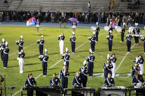 Senior Recognition Night, Raider Band, Cheerleader s Sports Stadium, Tamaqua, 11-6-2015 (324)