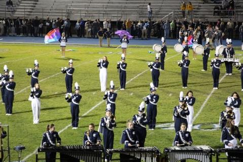 Senior Recognition Night, Raider Band, Cheerleader s Sports Stadium, Tamaqua, 11-6-2015 (324)